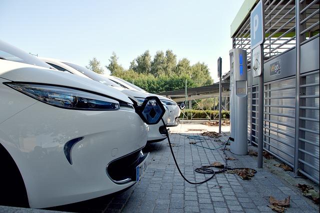 Avantages borne de recharge pour flotte automobile.