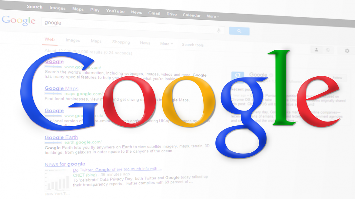 Classement dans les moteurs de recherche sur Google